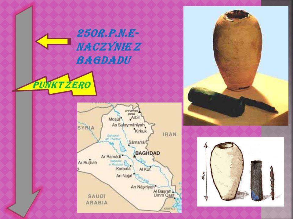 Punkt zero 250r.p.n.e- Naczynie z Bagdadu