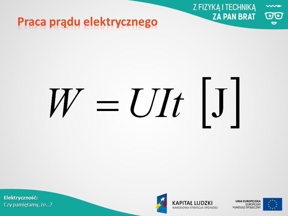 Elektryczność: Czy pamiętamy, że…