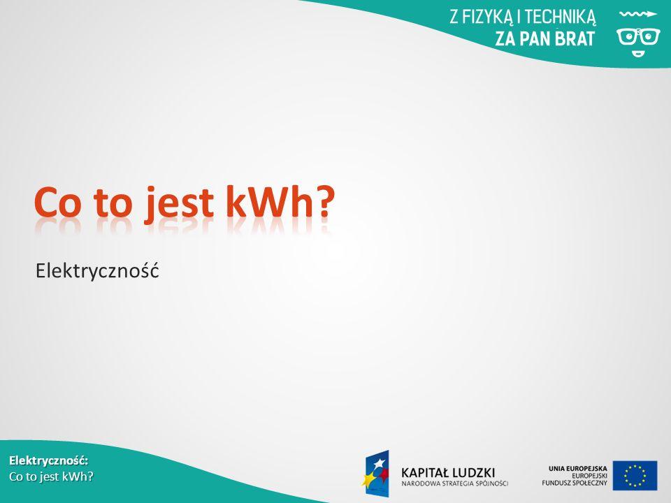 Elektryczność: Co to jest kWh Elektryczność
