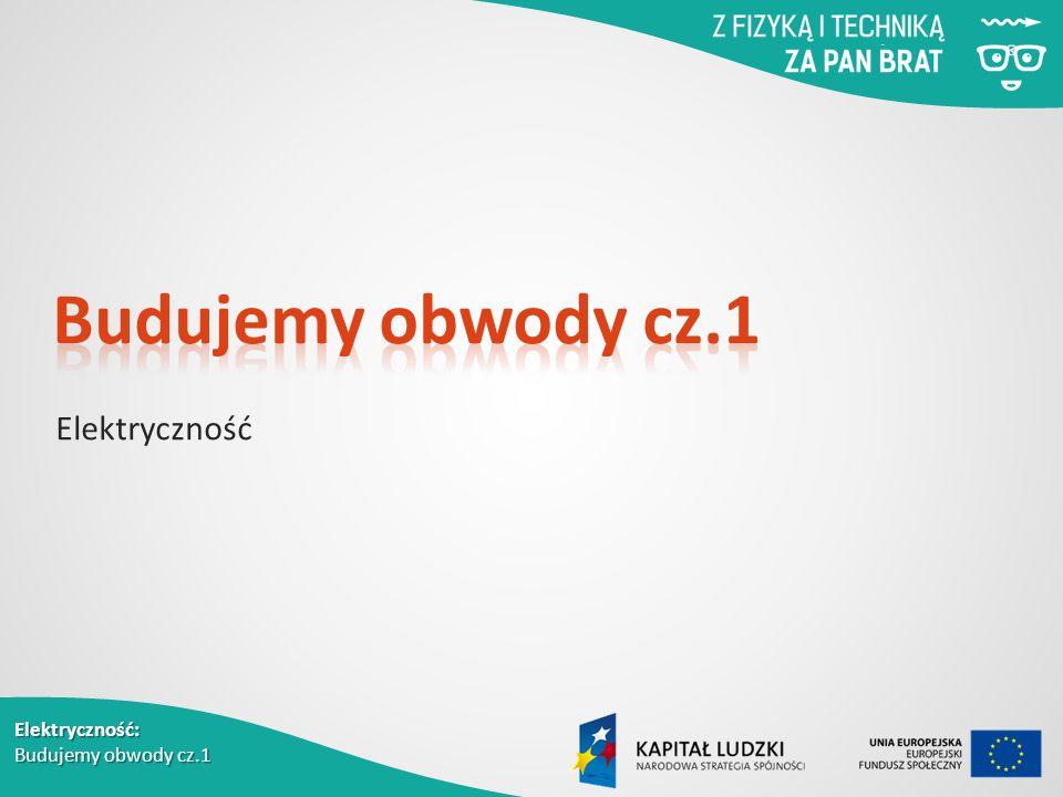 Elektryczność: Budujemy obwody cz.1 Elektryczność