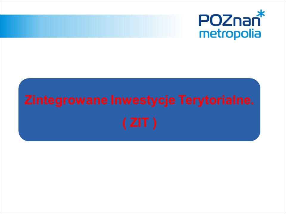 Zintegrowane Inwestycje Terytorialne. ( ZIT )