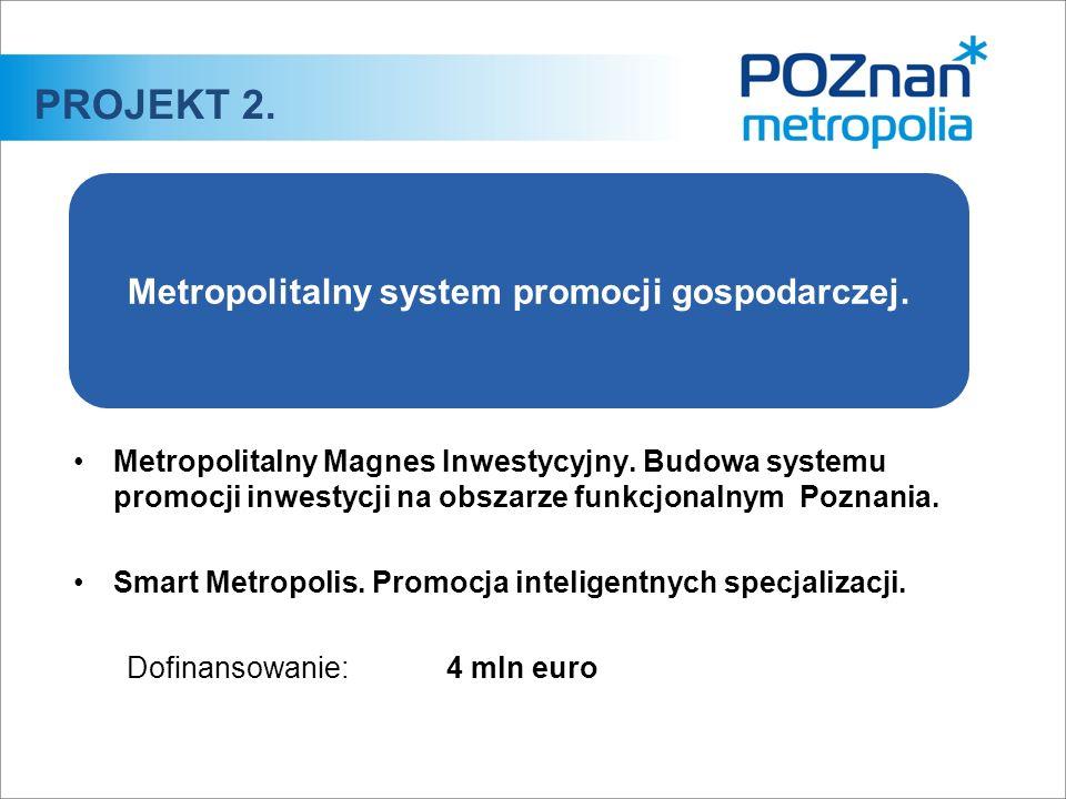 Metropolitalny Magnes Inwestycyjny. Budowa systemu promocji inwestycji na obszarze funkcjonalnym Poznania. Smart Metropolis. Promocja inteligentnych s
