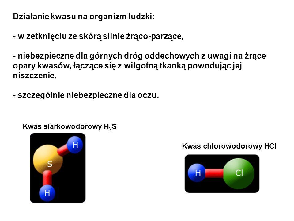Kwas siarkowy (VI) Kwas siarkowy (IV) Kwas azotowy (V) – HNO 3