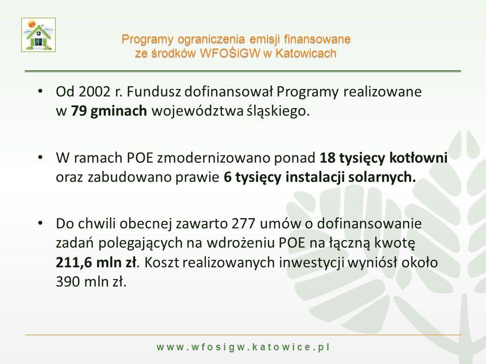 w w w. w f o s i g w. k a t o w i c e. p l Od 2002 r.