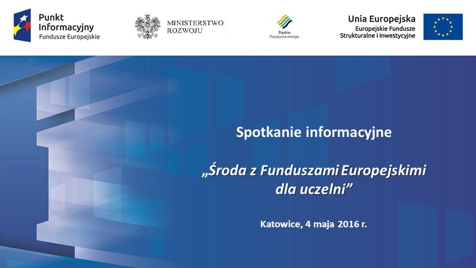Program Operacyjny Polska Cyfrowa 2014-2020 Oś priorytetowa II E-administracja i otwarty rząd