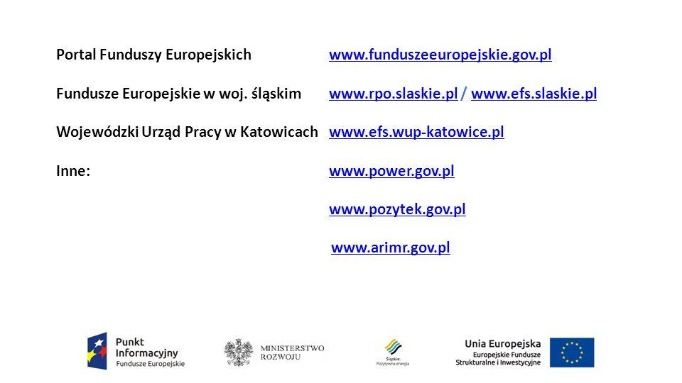 Portal Funduszy Europejskich www.funduszeeuropejskie.gov.plwww.funduszeeuropejskie.gov.pl Fundusze Europejskie w woj.