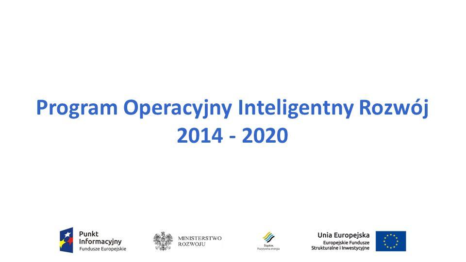 Program Operacyjny Inteligentny Rozwój 2014 - 2020