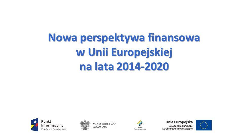 Nowa perspektywa finansowa w Unii Europejskiej na lata 2014-2020
