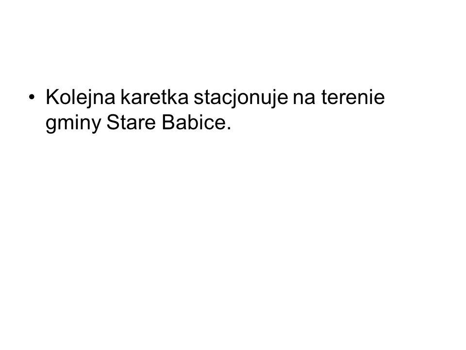 Kolejna karetka stacjonuje na terenie gminy Stare Babice.