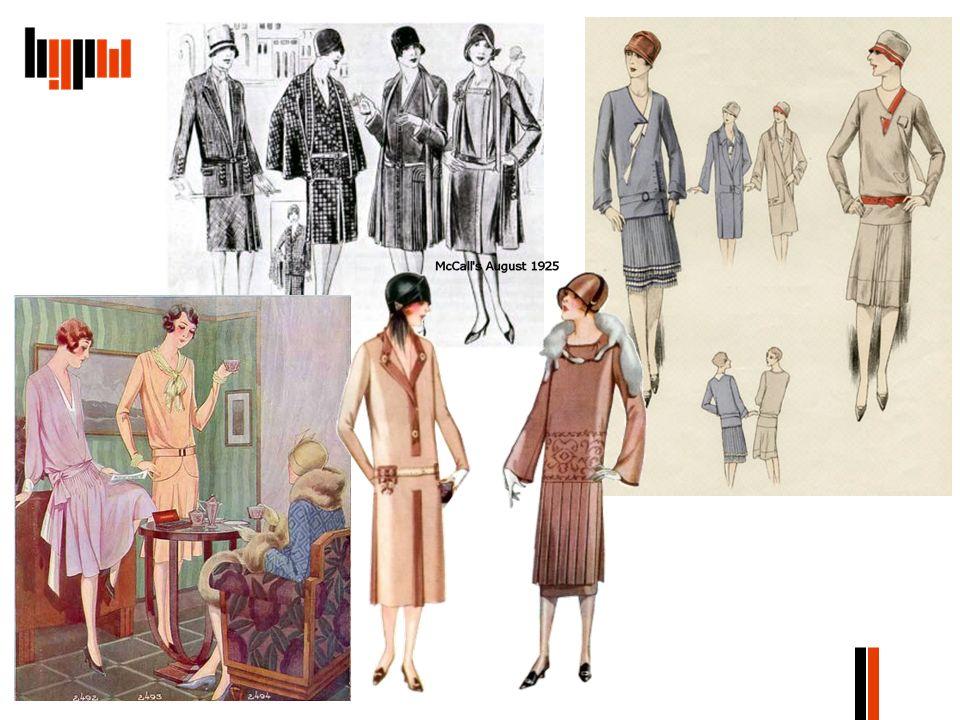 O modzie pisano także w niektórych czasopismach przeznaczonych dla gospodyń domowych.