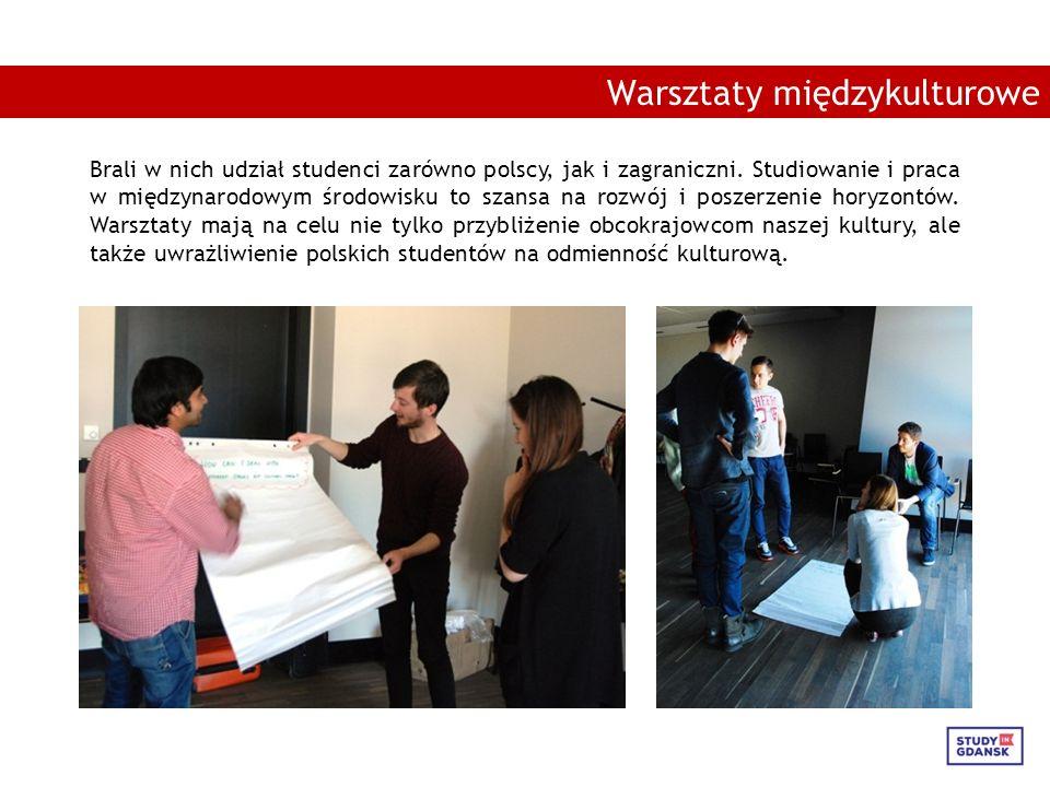 Brali w nich udział studenci zarówno polscy, jak i zagraniczni.