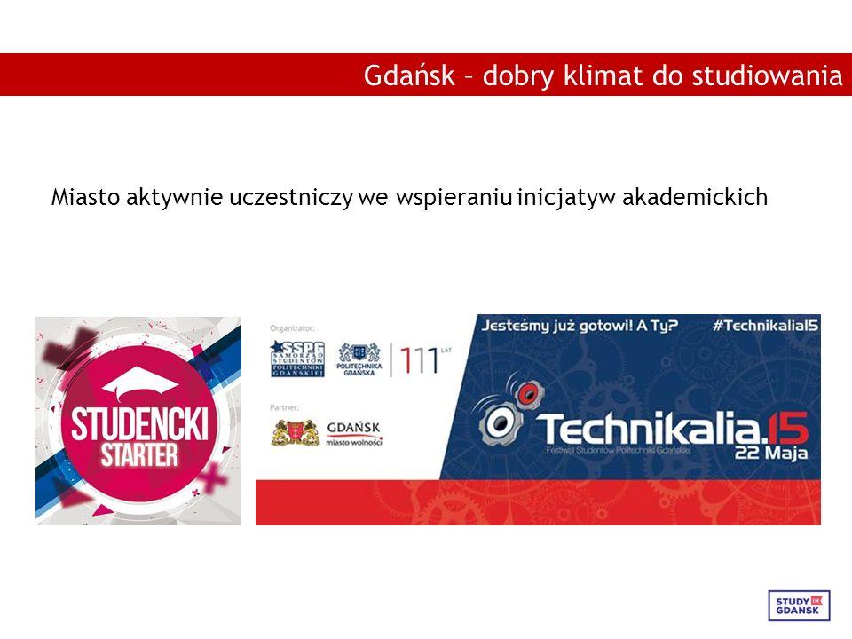 Miasto aktywnie uczestniczy we wspieraniu inicjatyw akademickich Gdańsk – dobry klimat do studiowania
