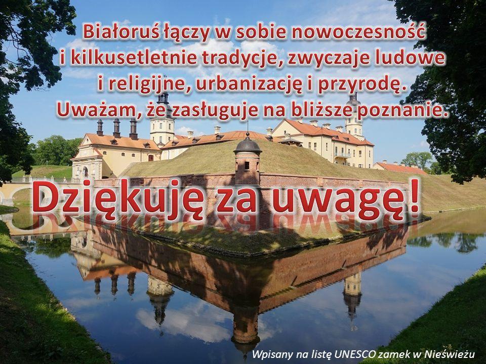 Wpisany na listę UNESCO zamek w Nieświeżu