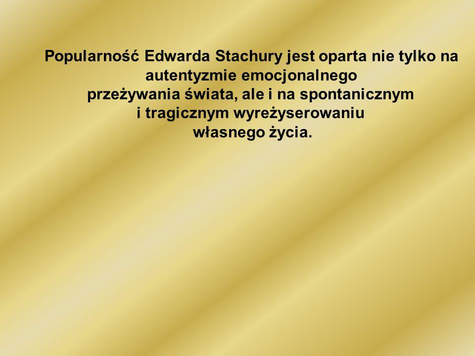 Edward Jerzy Stachura, dla przyjaciół Sted (ur.18 sierpnia 1937, zm.