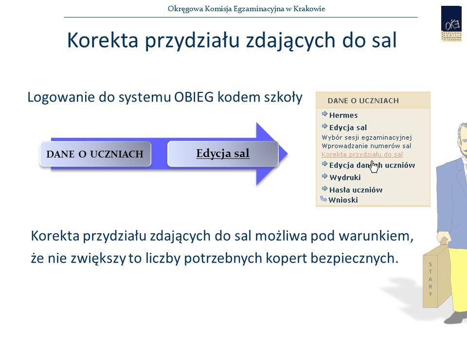 Okręgowa Komisja Egzaminacyjna w Krakowie Dokumentacja : Kod szkoły……...