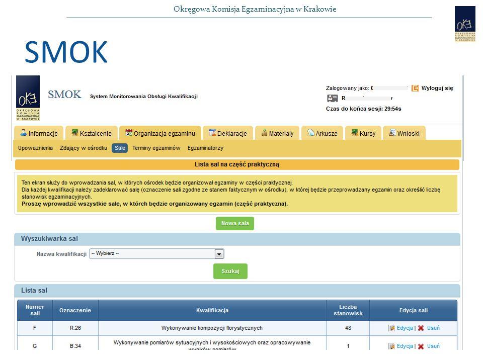 Okręgowa Komisja Egzaminacyjna w Krakowie SMOK