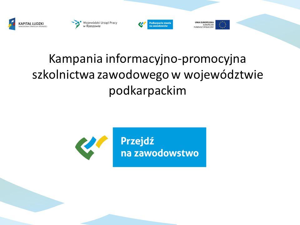 Kampania informacyjno-promocyjna szkolnictwa zawodowego w województwie podkarpackim