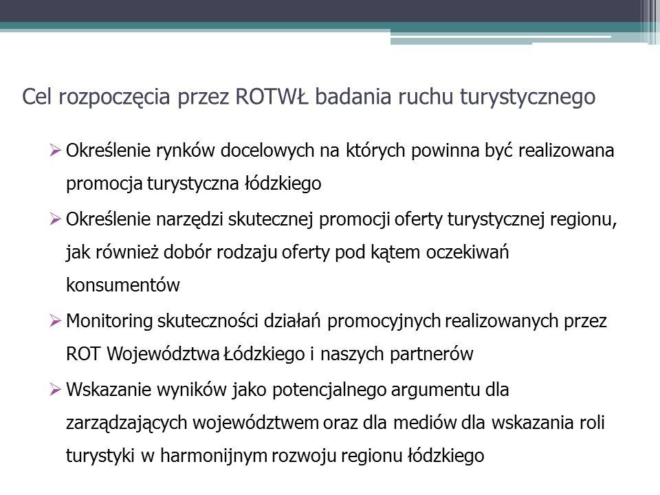 Podstawowe problemy w realizacji badań konsumentów usług turystycznych na terenie Województwa łódzkiego Problemy techniczne pracy w terenie Brak zgody obiektów na prowadzenie badań (2009 rok – ok.