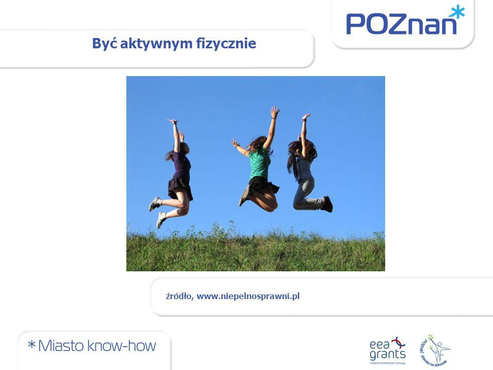 Być aktywnym fizycznie źródło, www.niepelnosprawni.pl