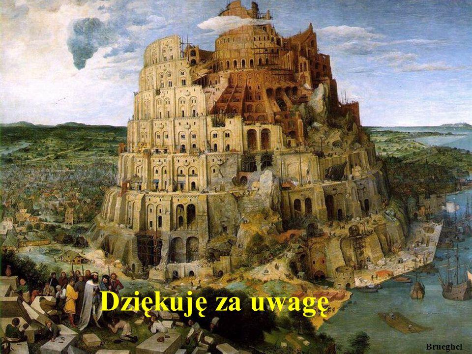 Brueghel Dziękuję za uwagę