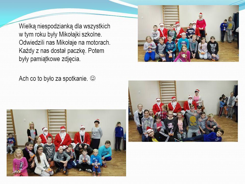 Wielką niespodzianką dla wszystkich w tym roku były Mikołajki szkolne.
