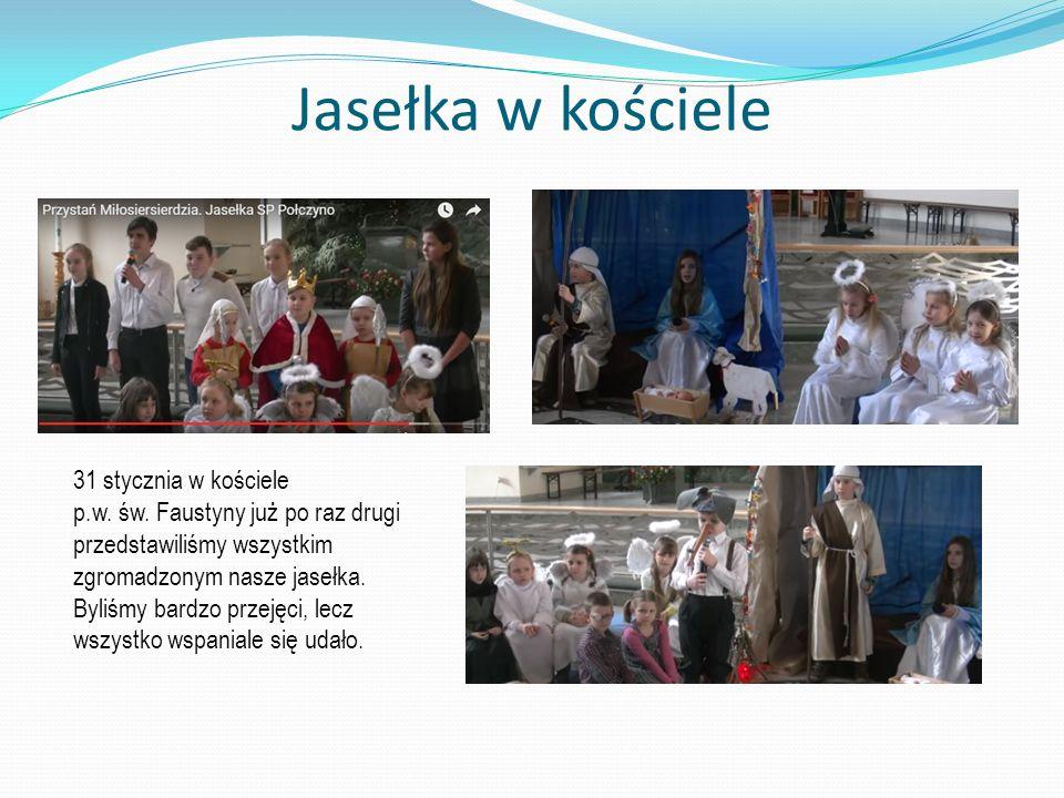 Jasełka w kościele 31 stycznia w kościele p.w.św.