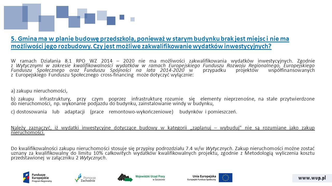 www.wup.pl 15.Czy wnioskodawca może pobierać dotacje na podstawie art.