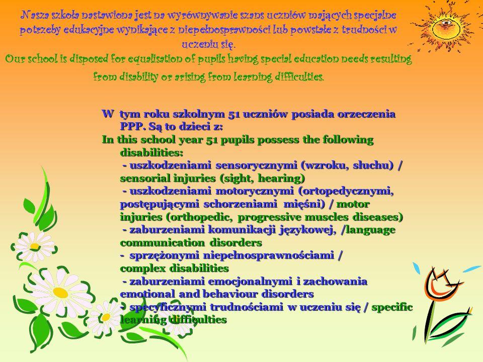 TERAPIA PEDAGOGICZNA DLA DYSLEKTYKÓW / PEDAGOGIC THERAPY FOR DYSLEXIC Nauczyciele prowadzący zajęcia: p.