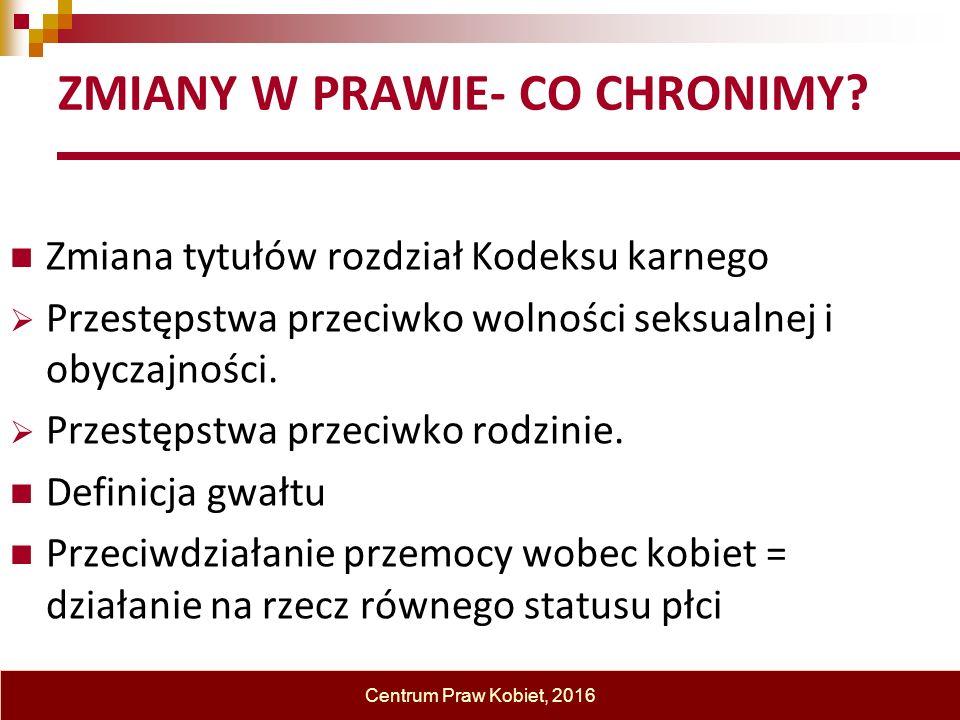 18 ZMIANY W PRAWIE- CO CHRONIMY.