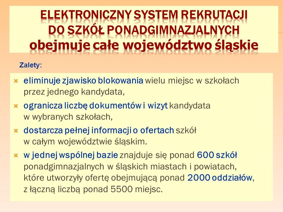 1. WYBIERASZ TRZY SZKOŁY w dowolnej kolejności Etap II Etap II - 06.05. - 21.06.2016