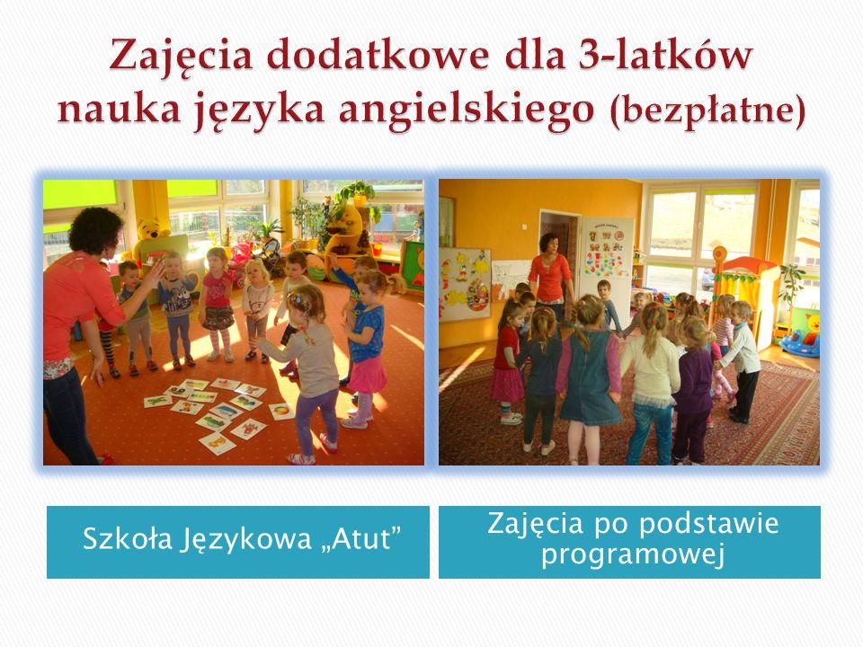 """Szkoła Językowa """"Atut Zajęcia po podstawie programowej"""