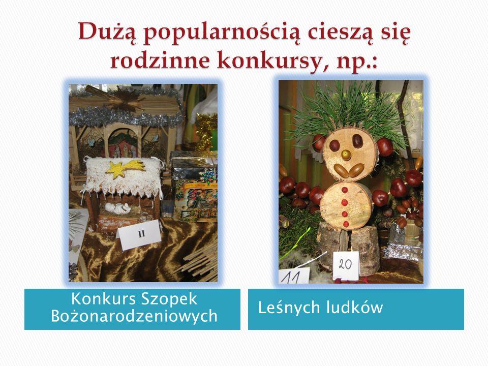 Konkurs Szopek Bożonarodzeniowych Leśnych ludków