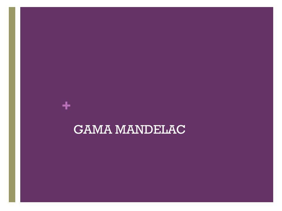 + GAMA MANDELAC
