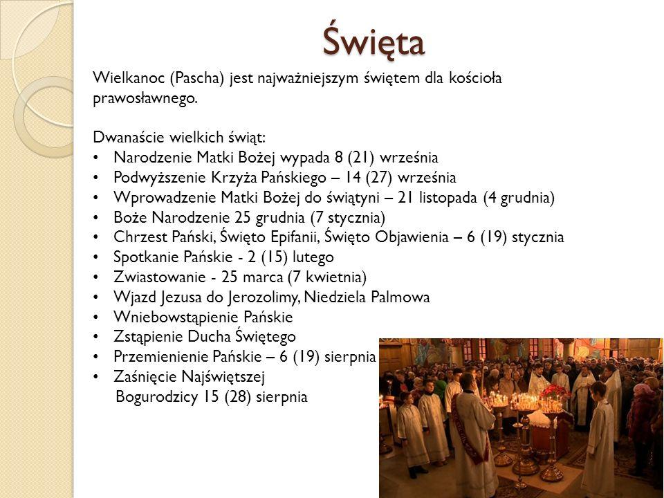 Święta Wielkanoc (Pascha) jest najważniejszym świętem dla kościoła prawosławnego.