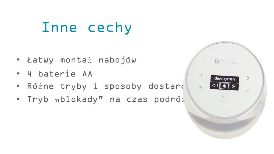 """Łatwy montaż nabojów 4 baterie AA Różne tryby i sposoby dostarczania Tryb """"blokady"""