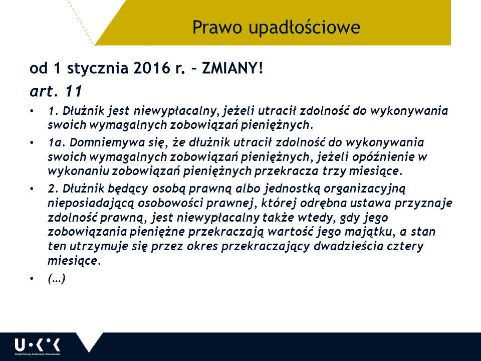 od 1 stycznia 2016 r. – ZMIANY. art. 11 1.
