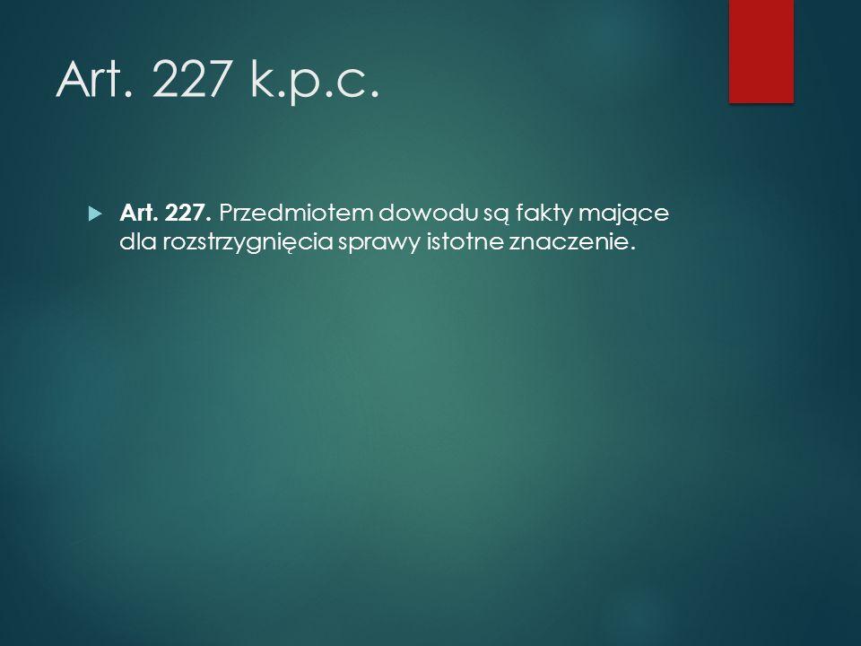 Art. 227 k.p.c.  Art. 227.