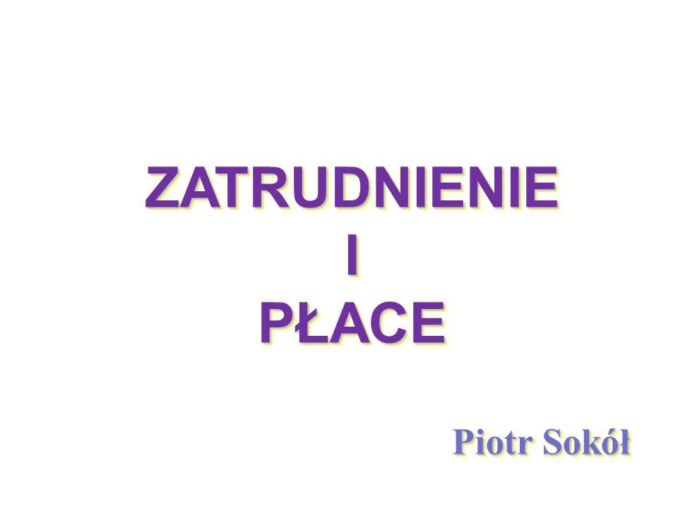 Wysokość płacy minimalnej w Polsce w latach 2000 - 2014 Źr ó dło: Opracowanie na podstawie danych GUS.
