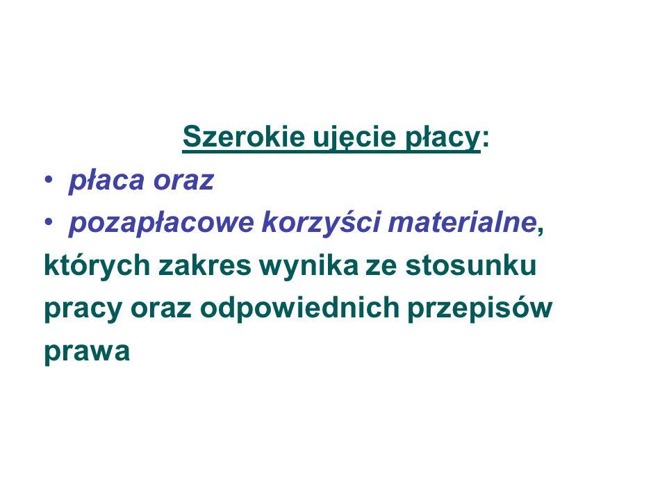 Elementy składowe listy płac Składniki wynagrodzenia PotrąceniaKwota do wypłaty Zgodnie z klasyfikacją statystyczną obligatoryjnefakultatywne  Zasadnicze  Dodatki np.