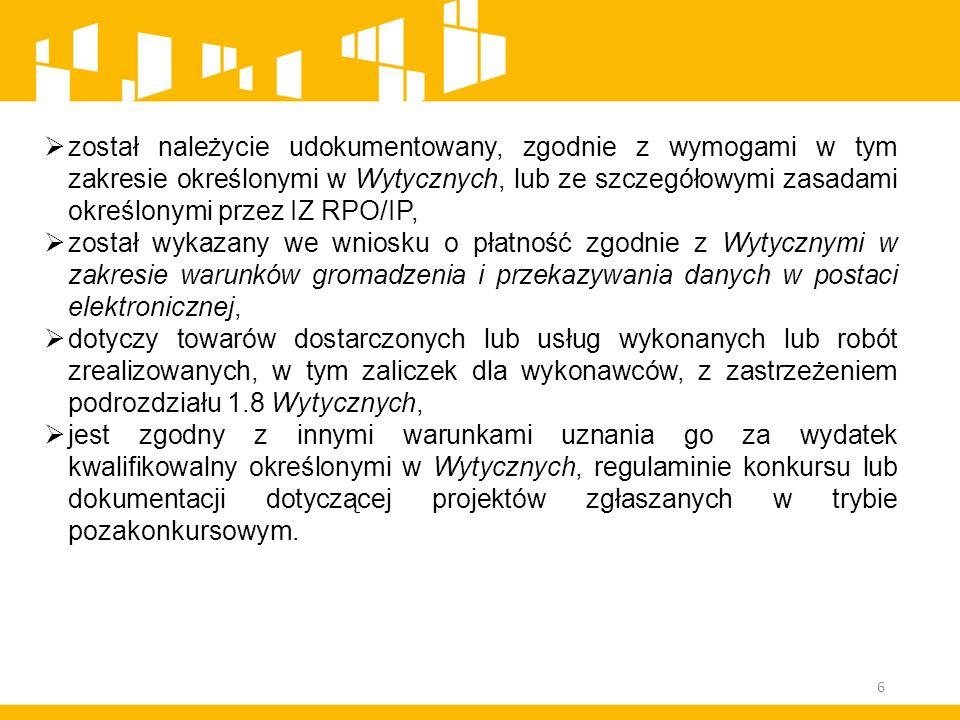 W zależności od liczby i skali stwierdzonych uchybień IZ RPO/IP może obniżyć stawkę ryczałtową kosztów pośrednich maksymalnie: z 25 % na 20 % kosztów bezpośrednich – w przypadku projektów o wartości do 1 mln PLN włącznie, z 20 % na 16 % kosztów bezpośrednich – w przypadku projektów o wartości powyżej 1 mln PLN do 2 mln PLN włącznie, z 15 % na 12 % kosztów bezpośrednich – w przypadku projektów o wartości powyżej 2 mln PLN do 5 mln PLN włącznie, z 10 % na 8 % kosztów bezpośrednich – w przypadku projektów o wartości przekraczającej 5 mln PLN.