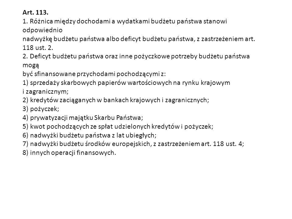 Art. 113. 1.