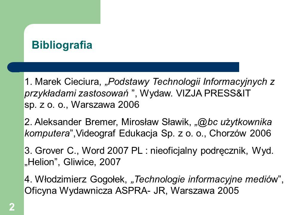 3 1.Podstawowe pojęcia technologii informacyjnych.