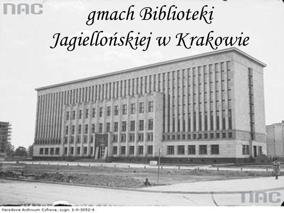 gmach Biblioteki Jagiellońskiej w Krakowie