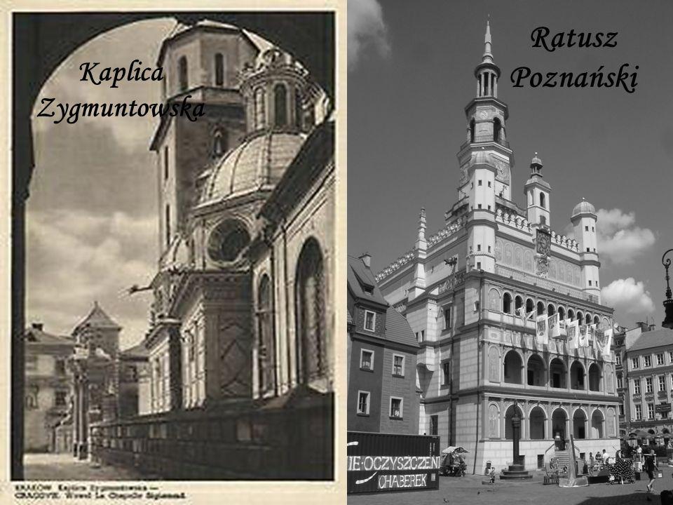 Kaplica Zygmuntowska Ratusz Poznański