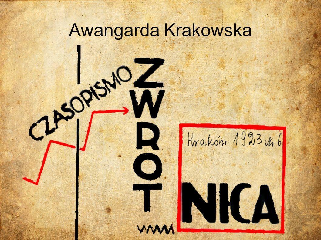 Czym w ogóle jest Awangarda Krakowska Jest to grupa literacka, która działała w latach 1922-1927 w Polsce.