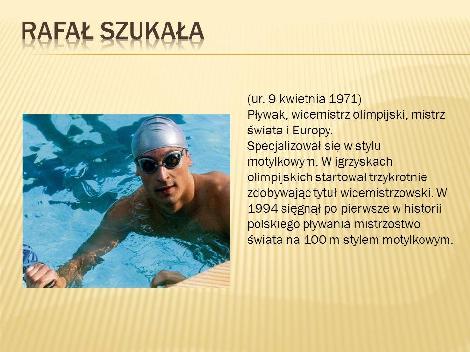(ur. 9 kwietnia 1971) Pływak, wicemistrz olimpijski, mistrz świata i Europy.