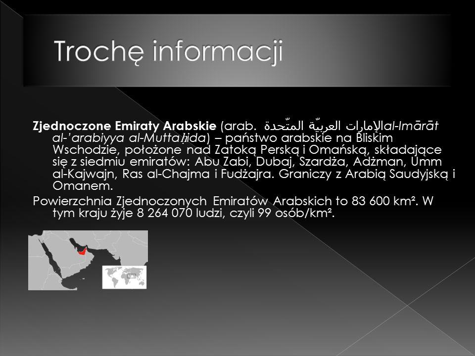 Zjednoczone Emiraty Arabskie (arab.