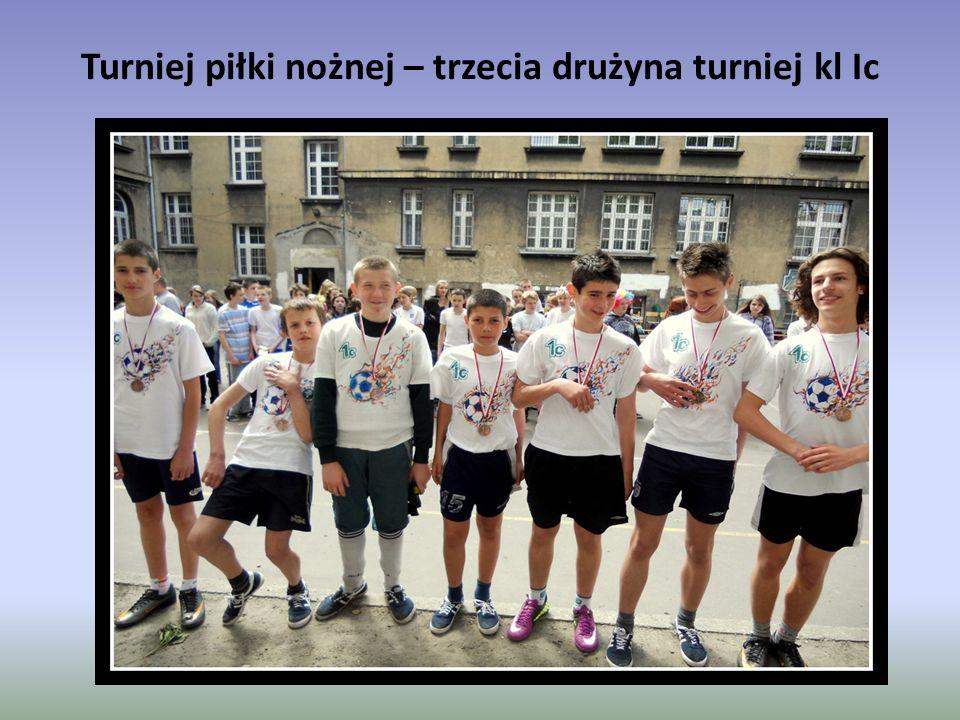 Turniej piłki nożnej – trzecia drużyna turniej kl Ic