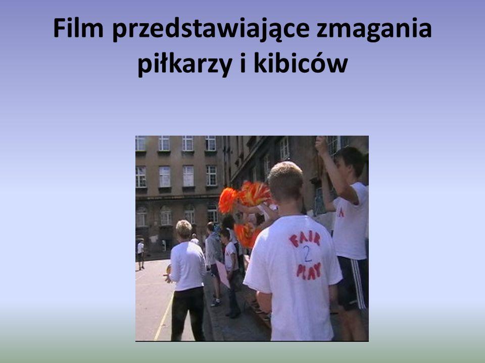 Film przedstawiające zmagania piłkarzy i kibiców