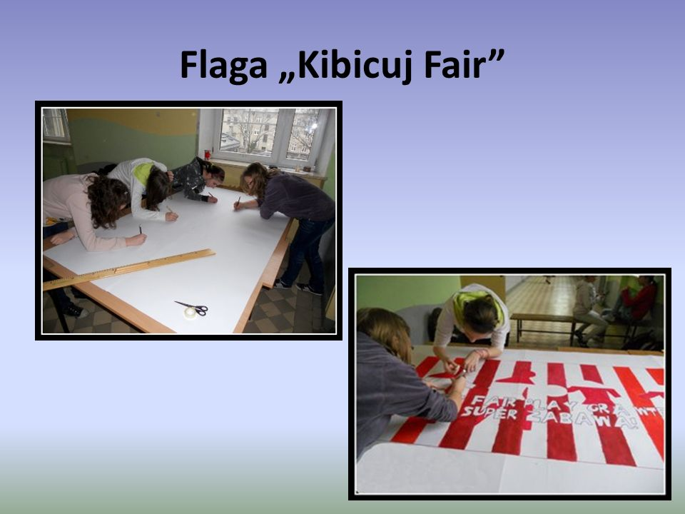 "Flaga ""Kibicuj Fair"